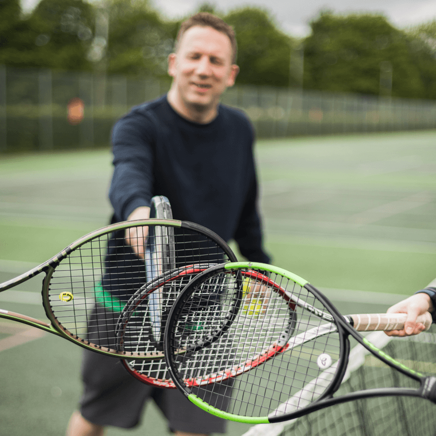Adult Tennis Coaching - Edinburgh Tennis
